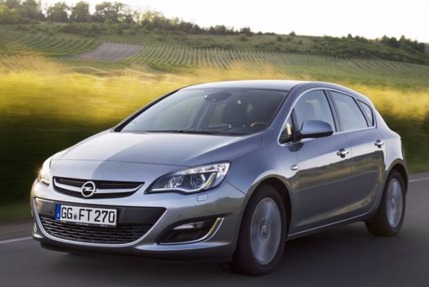 Opel Astra J J (рестайлінг) Хетчбек