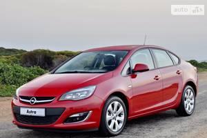 Opel astra-j J (рестайлінг) Седан