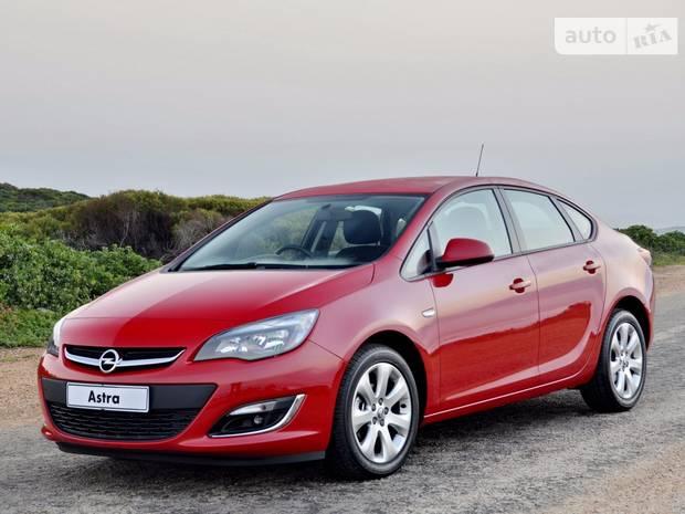Opel Astra J J (рестайлінг) Седан