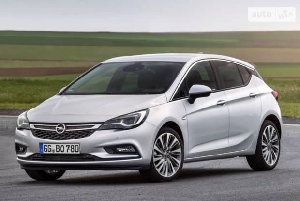 Opel Astra K K Хетчбек