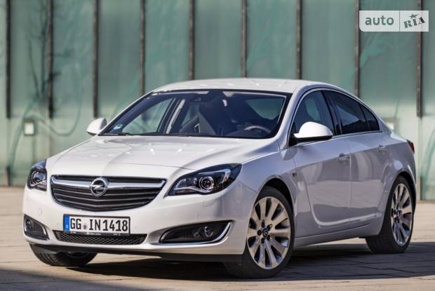 Opel Insignia 1 покоління (1 рестайлінг) Седан