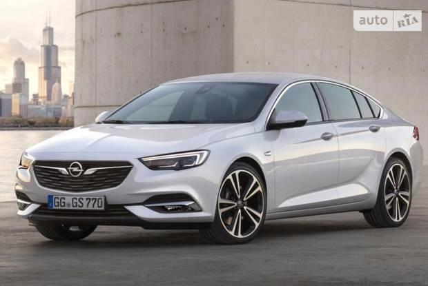 Opel Insignia II поколение Лифтбэк
