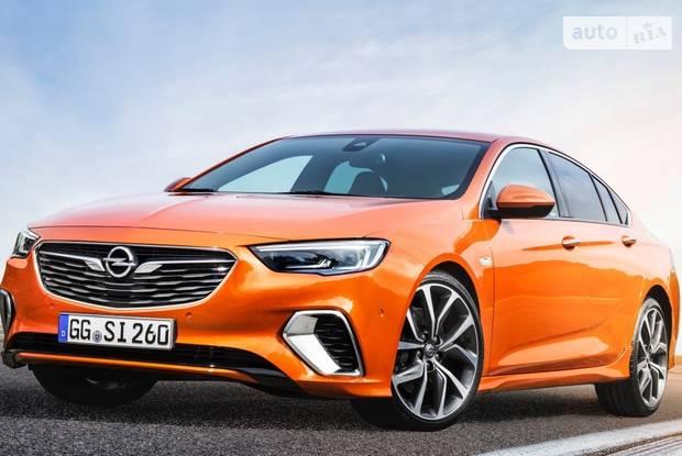 Opel Insignia II поколение Седан