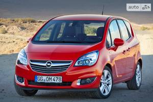 Opel meriva 2 покоління (1 рестайлінг) Микровэн