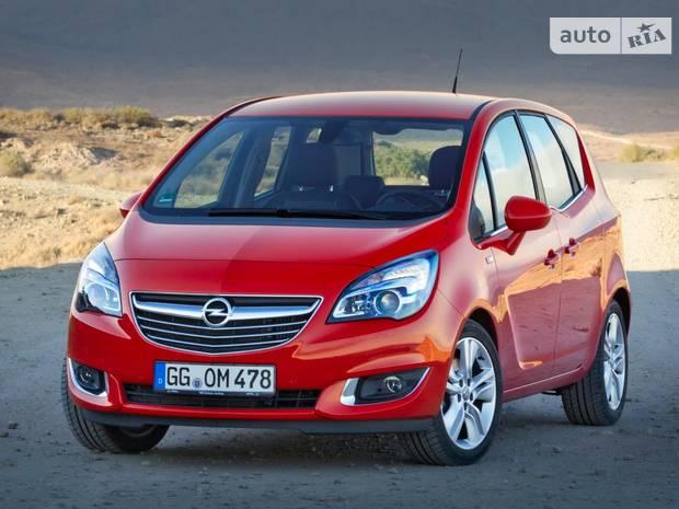 Opel Meriva 2 покоління (1 рестайлінг) Мікровен