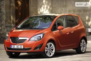 Opel meriva 2 покоління Микровэн