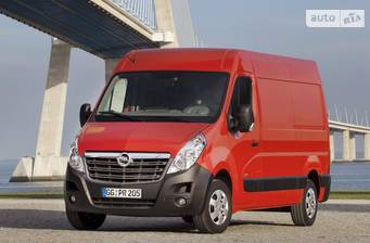 Opel Movano груз. Crew Cab 2.3TD МТ (125 л.с.) L3H1 4500 Double Wheel RWD  2017