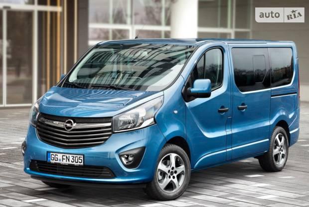 Opel Vivaro пасс. B Мінівен