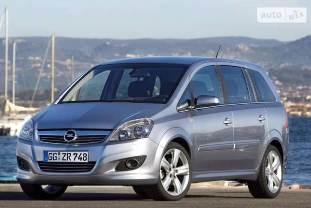 Opel Zafira B (рестайлинг) Мінівен
