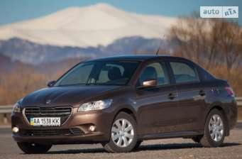 Peugeot 301 1.6 6AT (115 л.с.) Allure 2016