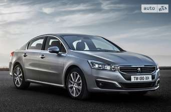 Peugeot 508 New 1.6 BlueHDi AT (120 л.с.) Start/Stop Active 2018