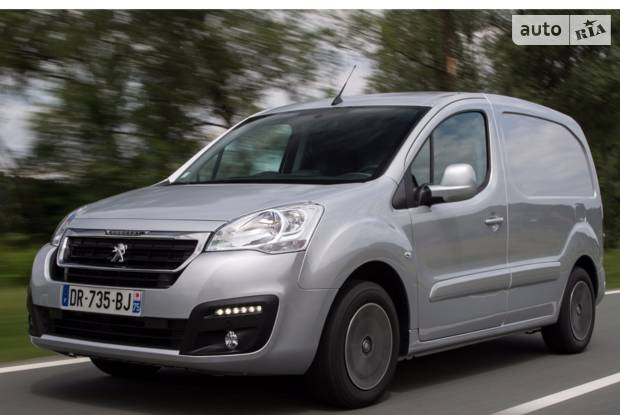 Peugeot Partner груз. 2 покоління (2 рестайлінг) Фургон