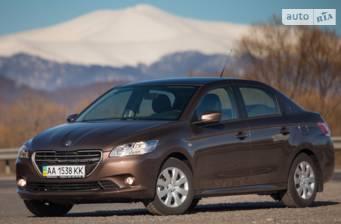 Peugeot 301 1.6 6AT (115 л.с.) 2016