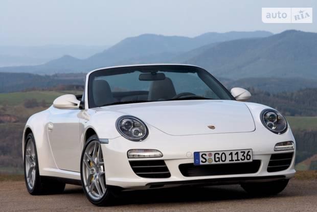 Porsche 911 997 (рестайлінг) Кабріолет