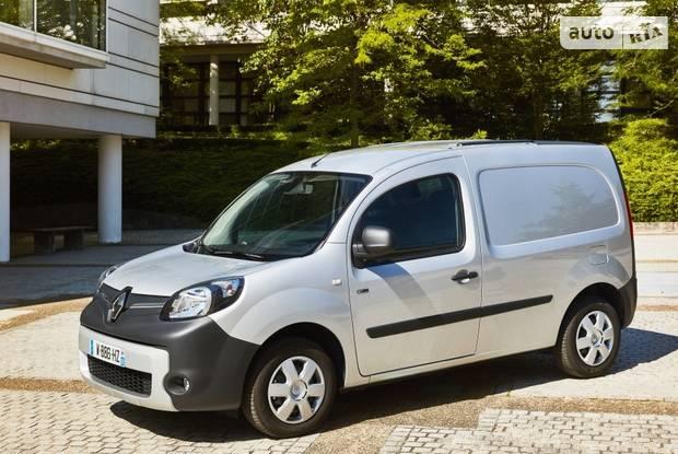 Renault Kangoo груз. 2 поколение, рестайлинг Фургон