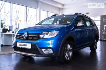 Renault Logan Stepway 2020 Ultramarine