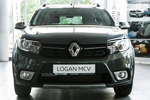 Renault Logan Stepway Ultramarine