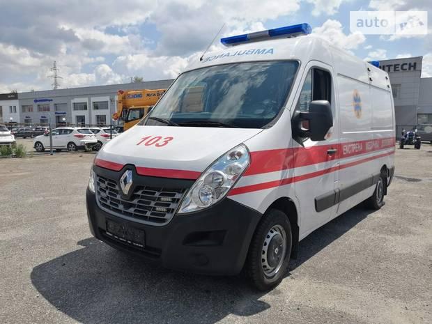 Renault Master груз.  III поколение рестайлинг Автомобіль швидкої допомоги