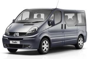 Renault trafic-pass X83, 1 рестайлінг Минивэн