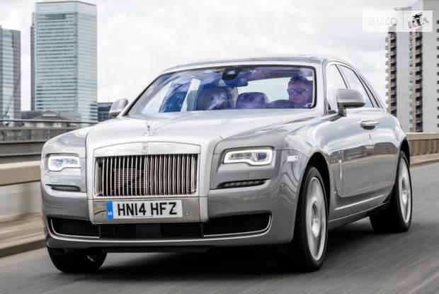 Rolls-Royce Ghost 2 поколение Седан