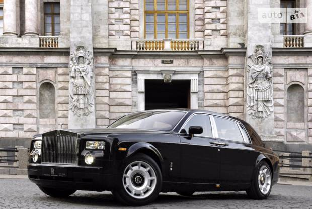 Rolls-Royce Phantom 4 поколение Седан