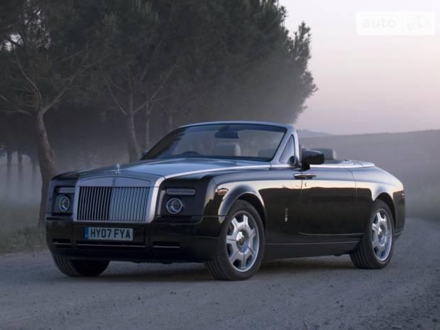 Rolls-Royce Phantom 5 поколение Кабріолет