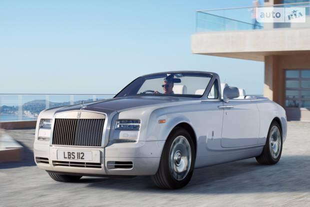 Rolls-Royce Phantom 5 поколение (рестайлинг) Кабріолет