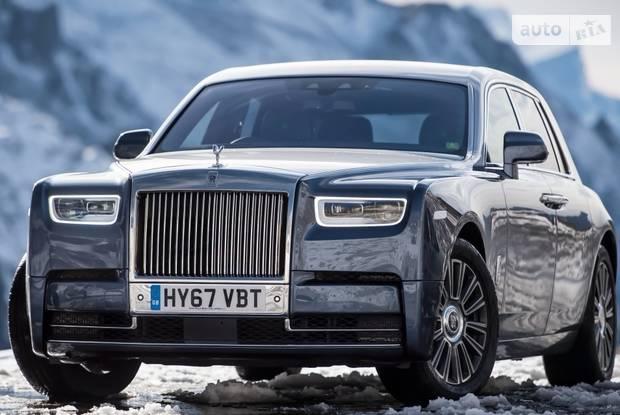 Rolls-Royce Phantom VIII поколение Седан