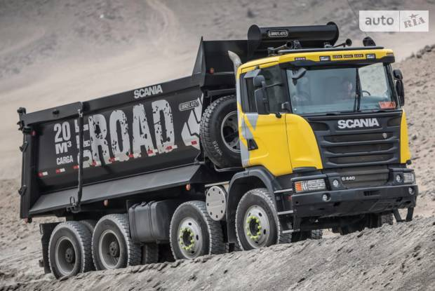 Scania G 3 покоління Самоскид