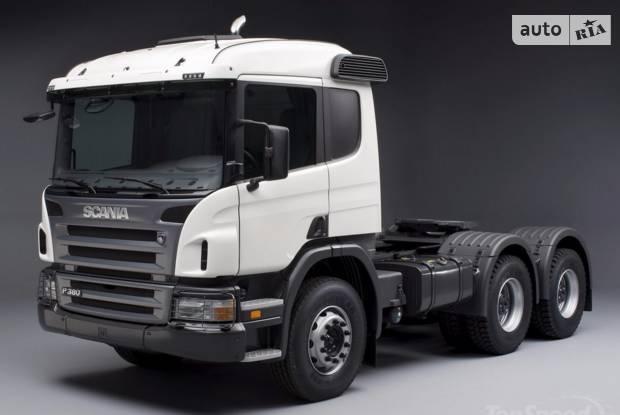 Scania P 2 покоління Тягач