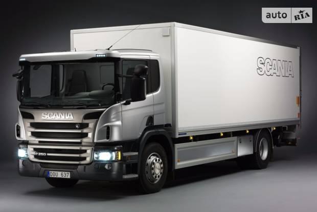 Scania P 2 покоління (рестайлінг) Вантажівка
