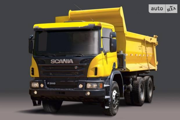 Scania P 2 покоління (рестайлінг) Самоскид