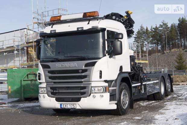 Scania P 2 покоління (рестайлінг) Шассі
