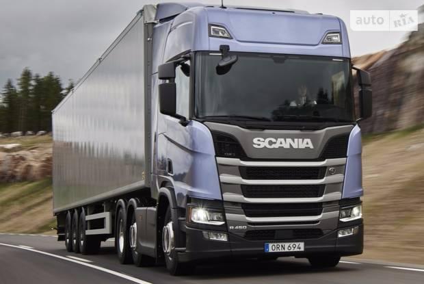 Scania R 3 покоління Тягач