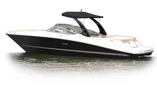 Sea Ray 250 SLX 1-е поколение Катер