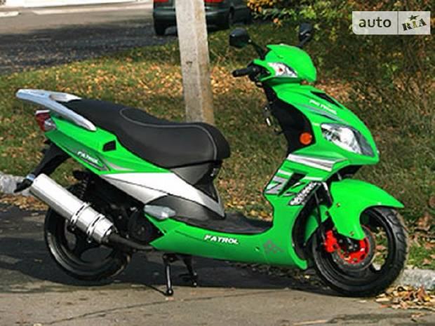 SkyBike Patrol 1 покоління Скутер