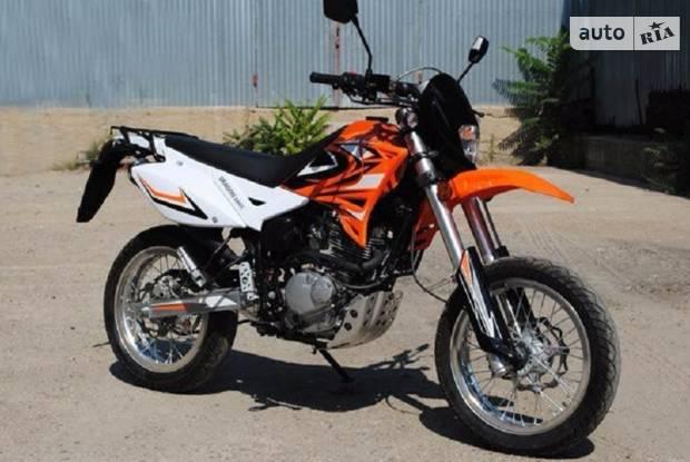 SkyMoto Dragon 2 покоління Мотоцикл