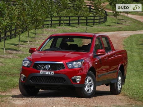 SsangYong Actyon Sports 2.0D AT (141 л.с.) 2013