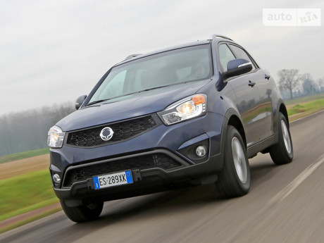 SsangYong Korando 2.0 AT (149 л.с.) 4WD 2011