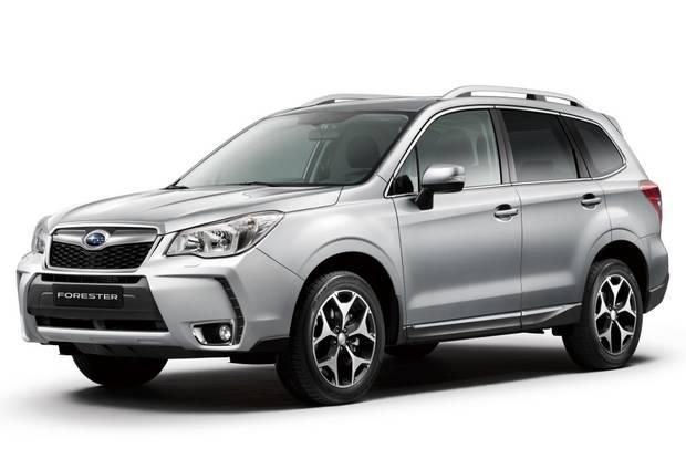 Subaru Forester 4 поколение (SJ) Кроссовер