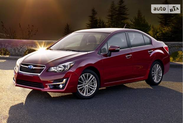 Subaru Impreza 5 поколение Седан