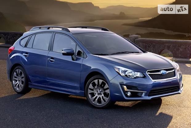 Subaru Impreza 5 поколение Хэтчбек
