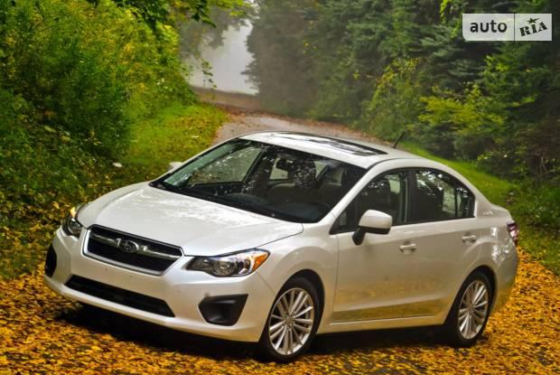 Subaru Impreza 4 поколение Седан