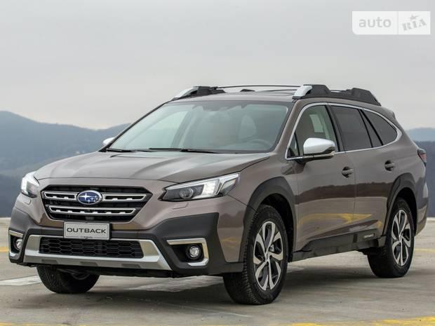 Subaru Outback 6-е поколение (рестайлинг) Універсал