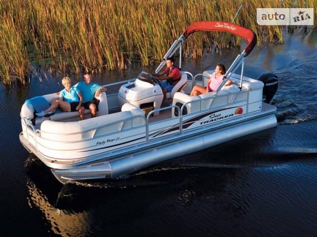 Sun Tracker Party Barge 1 поколение Катер