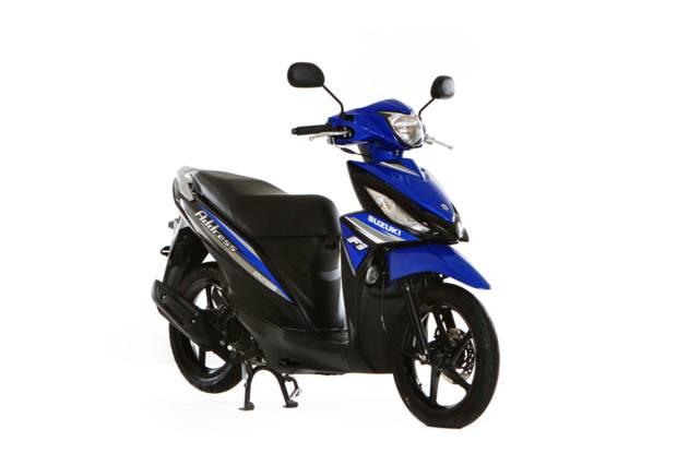 Suzuki Address 4 поколение Скутер