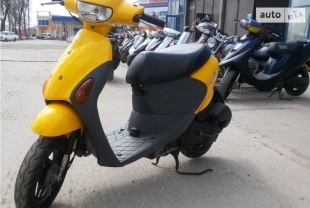Suzuki Lets 4 3 поколение Скутер