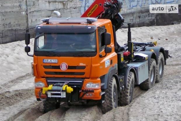 Tatra Phoenix 1 покоління Кран-маніпулятор