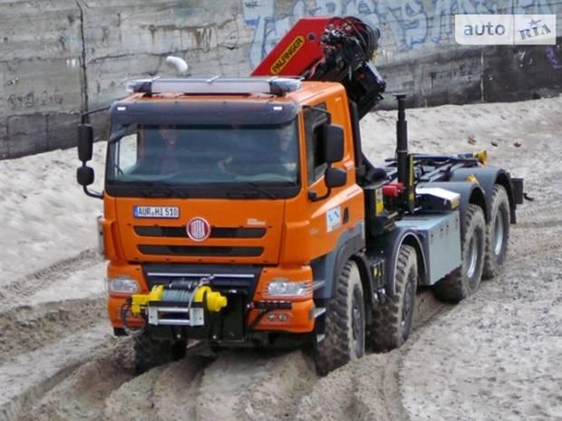 Tatra Phoenix 1 покоління Кран-манипулятор