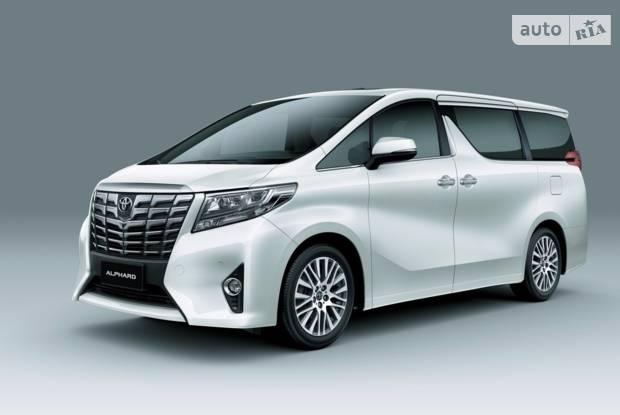Toyota Alphard 3 покоління Минивэн